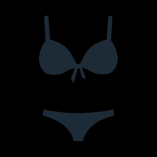 accesories, beach, bikini, bra, brassiere, clothing, fabric icon