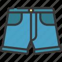 denim, shorts, fashion, style, attire