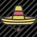 sombrero, fashion, style, attire, hat