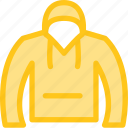 clothes, clothing, dress, fashion, hoodie icon