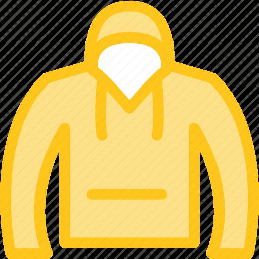clothes, clothing, dress, fashion, hoodie icon