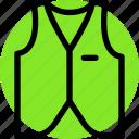 cloth, clothing, dress, fashion, female, male, vest icon