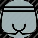 cloth, clothing, dress, fashion, shorts, underpants, underware icon