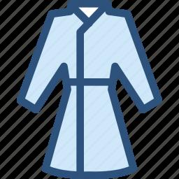 clothes, clothing, dress, fashion, housecoat icon
