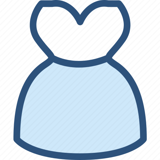 clothes, clothing, dress, fashion, lace, long, strapless icon