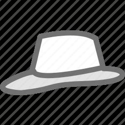 clothes, clothing, cowboy, dress, fashion, hat icon