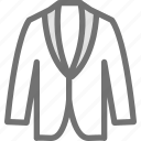 clothes, clothing, dress, fashion, jacket icon