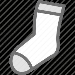 clothes, clothing, dress, fashion, socks icon