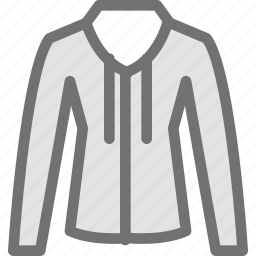 clothes, clothing, dress, fashion, sweatshirt icon