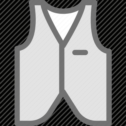 clothes, clothing, coat, dress, fashion, waist icon