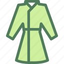 clothes, clothing, dress, fashion, housecoat icon