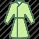 clothes, clothing, dress, fashion, housecoat