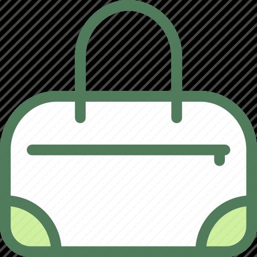 bag, clothes, clothing, dress, fashion, hand icon