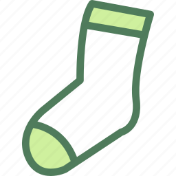 clothes, clothing, dress, fashion, socks icon