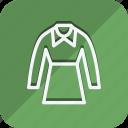 clothes, clothing, dress, fashion, fullslevedress, man, woman icon