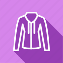 bag, clothes, clothing, fashion, hoodie, man, woman icon