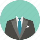 clothes, fashion, style, suit icon