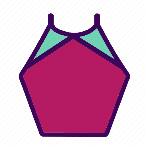 beauty, clothes, clothing, fashion, summer, swimwear, tops icon