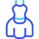 25px, gown, iconspace icon