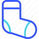 25px, iconspace, socks icon