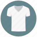 clothing, fashion, man, shopping, style, t shirt, tshirt, v-neck icon
