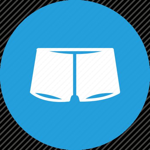 boxer, cloth, fashion, half, man, pants, wearing icon