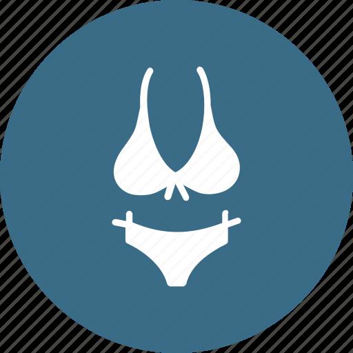 bikini, bra, cloth, clothing, lingerie, penty icon