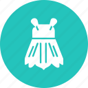 cloth, clothing, dress, fancy, fashion, short, skirt icon