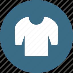casual, cloth, clothing, fashion, roundneck, tshirt, wearing icon