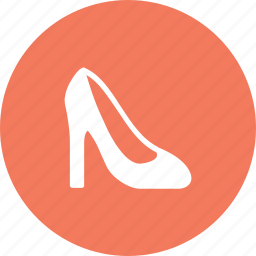 cloth, fashion, footwear, heels, high, ladies, shoes icon