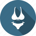 bikini, bra, cloth, clothing, lingerie, penty icon