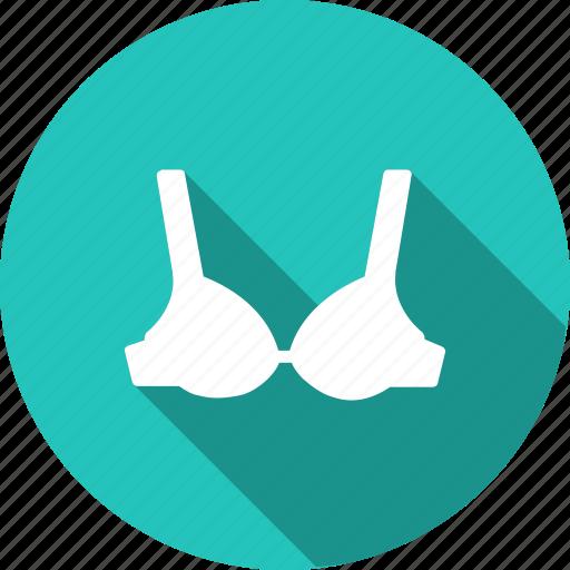bra, cloth, clothing, fashion, garments, under, wearing icon