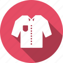 cloth, clothing, fashion, ladies, pocket, shirt, wearing icon