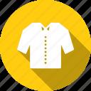 cloth, clothing, fashion, ladies, pocket, shirt, wearing icon