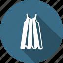 cloth, clothing, dress, fancy, fashion, skirt, wearing icon