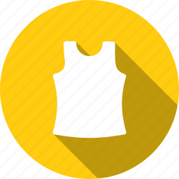 cloth, clothing, fashion, inner, sleeveless, undergarments, wearing icon