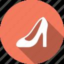 cloth, fashion, footwear, heels, high, ladies, shoes icon