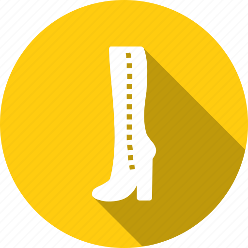 boots, cloth, cowboy, fashion, footwear, length, shoes icon