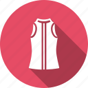 cloth, dress, fancy, fashion, ladies, sleeveless, wearing icon