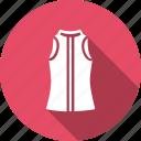 cloth, dress, fancy, fashion, ladies, sleeveless, wearing icon