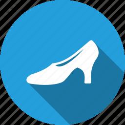 fashion, footwear, heel, high, ladies, shoes, wearing icon