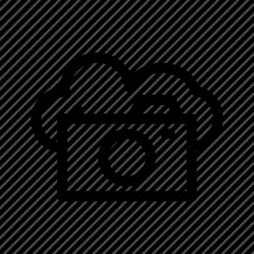 cloud, cloud camera, network, server icon