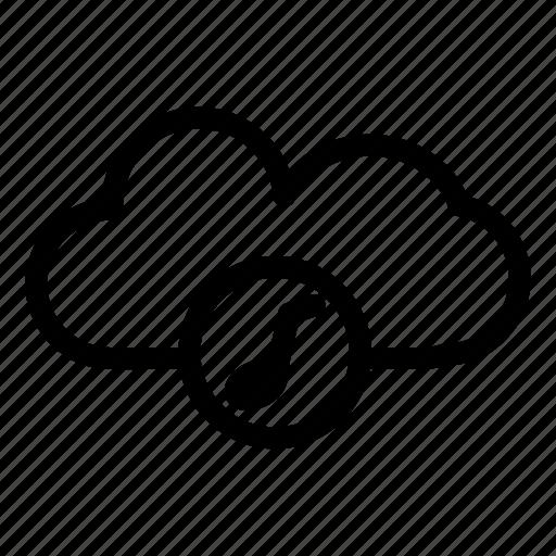 cloud, cloud music, cloud song, network, server icon