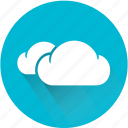 clear, cloud, cloudy, meteorological, meteorology, weather, weatherproof icon