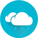 cloud, clouds, cloudy, rain, rainy, weather, weatherproof icon