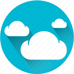 clear, cloud, clouds, cloudy, day, sun, sunny icon