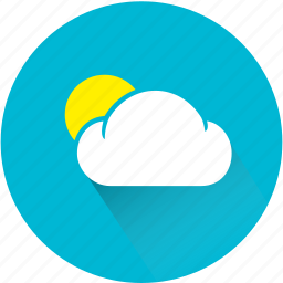 cloud, clouds, meteorology, moon, moonlight, weather, weatherproof icon