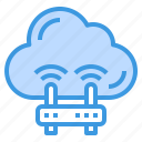 cloud, computing, internet, sharing, router