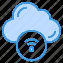 cloud, computing, wifi, signal, sharing, internet