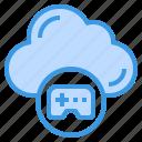 cloud, gaming, game, computing, data